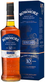 Bowmore Scotch Single Malt 10 Year Dorus Mor 750ml